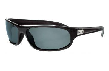 31b749e34934 Bolle Anaconda Sunglasses, Shiny Black Frame, TNS Lens, Polarized, 10338