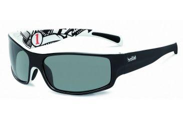 86172d6d6b Bolle Piranha Jr. Progressive Prescription Sunglasses - Shiny Black White  Frame 11713PRG