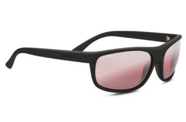c456427a9fff Serengeti Alessio Single Vision Prescription Sunglasses, Soft Touch Black  Frame, Polarized, Photochromic,