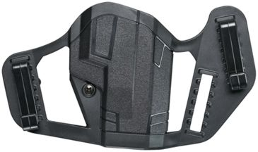 Uncle Mike's Apparition Belt Holster For Smith & Wesson M&P 9/40/45  Ambidextrous Black 79100